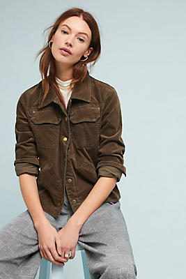 Slide View: 1: Corduroy Trucker Jacket