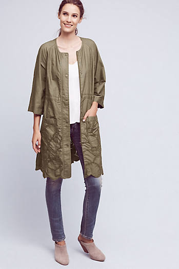 Scalloped Anorak