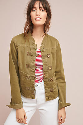 Slide View: 1: Everly Military Jacket