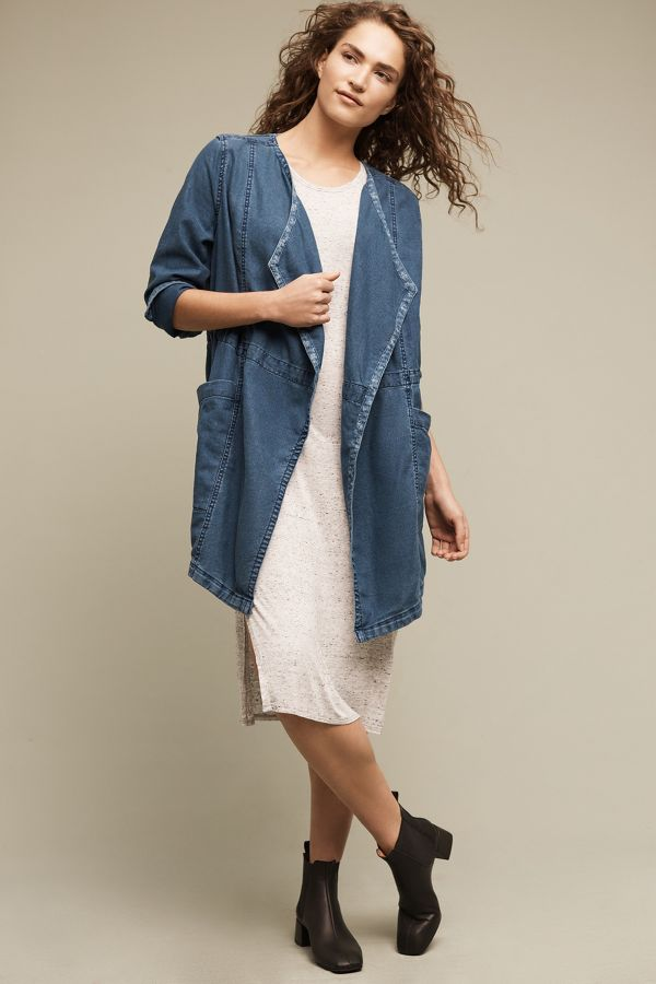 Hei Hei High Plains Chambray Anorak