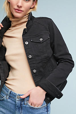 Slide View: 1: Pilcro Classic Denim Jacket
