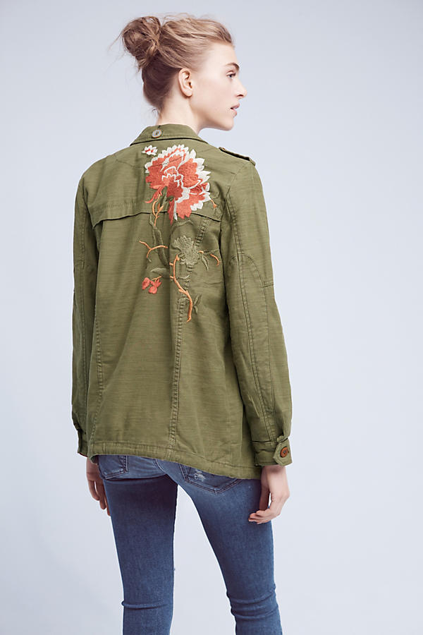 Embroidered Field Jacket
