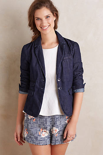 Pilcro Denim Blazer