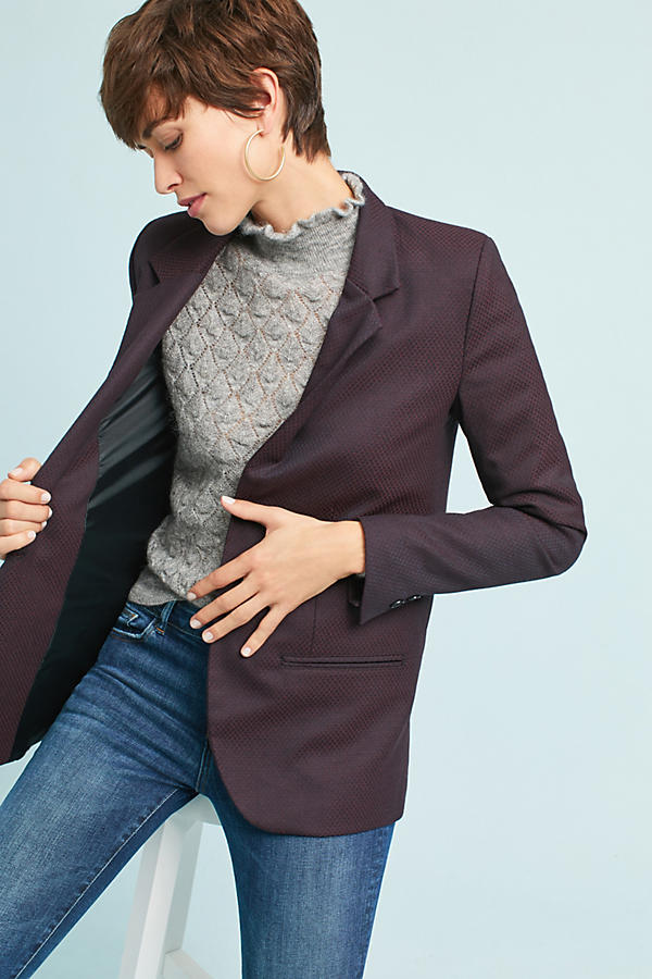 Slide View: 3: Blair Jacquard Blazer