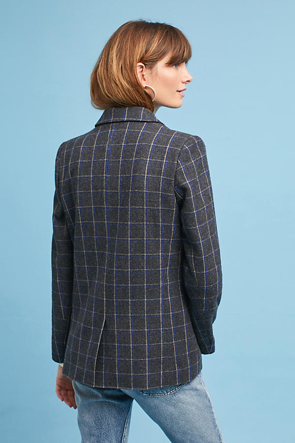 Slide View: 3: Daryl Plaid Blazer