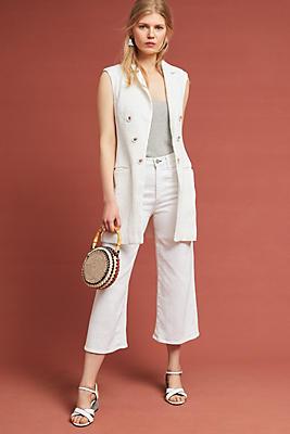 Slide View: 1: Flores Textured Vest