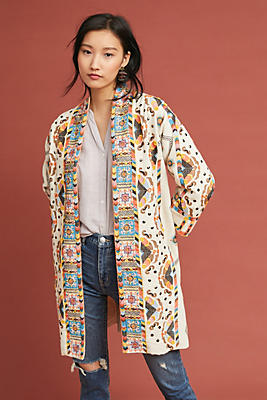 Slide View: 1: Coloma Embroidered Jacket