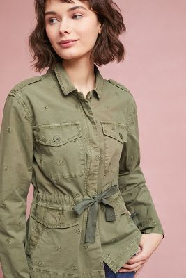Sanctuary   Honor Utility Jacket  -    GREEN