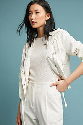 Slide View: 1: Nova Camo Linen Jacket