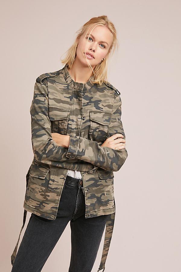 Camo Surplus Jacket - Green, Size Xs