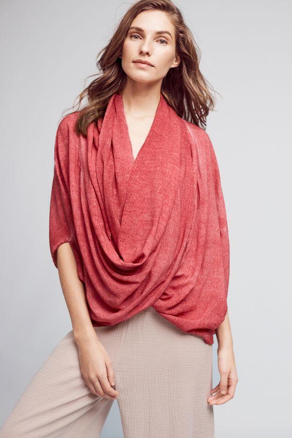 Saturday/Sunday Wrapped Kimono Top