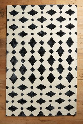 Moroccan Tile Rug Anthropologie