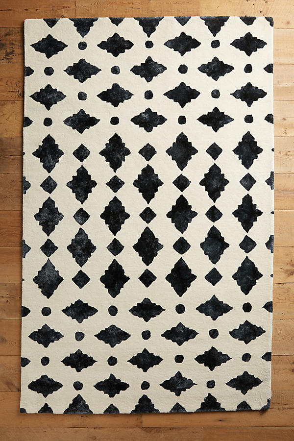 Slide View: 1: Moroccan Tile Rug Swatch