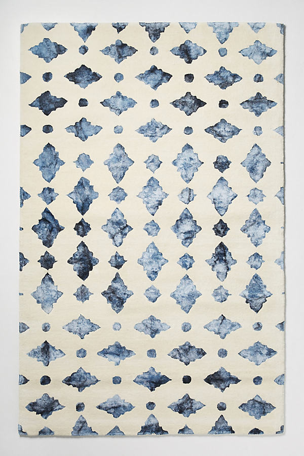 Aziza Rug - Sapphire, Size 8 X 10