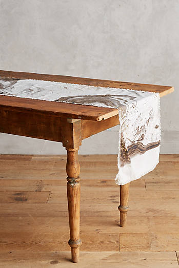 Marbled Table Runner