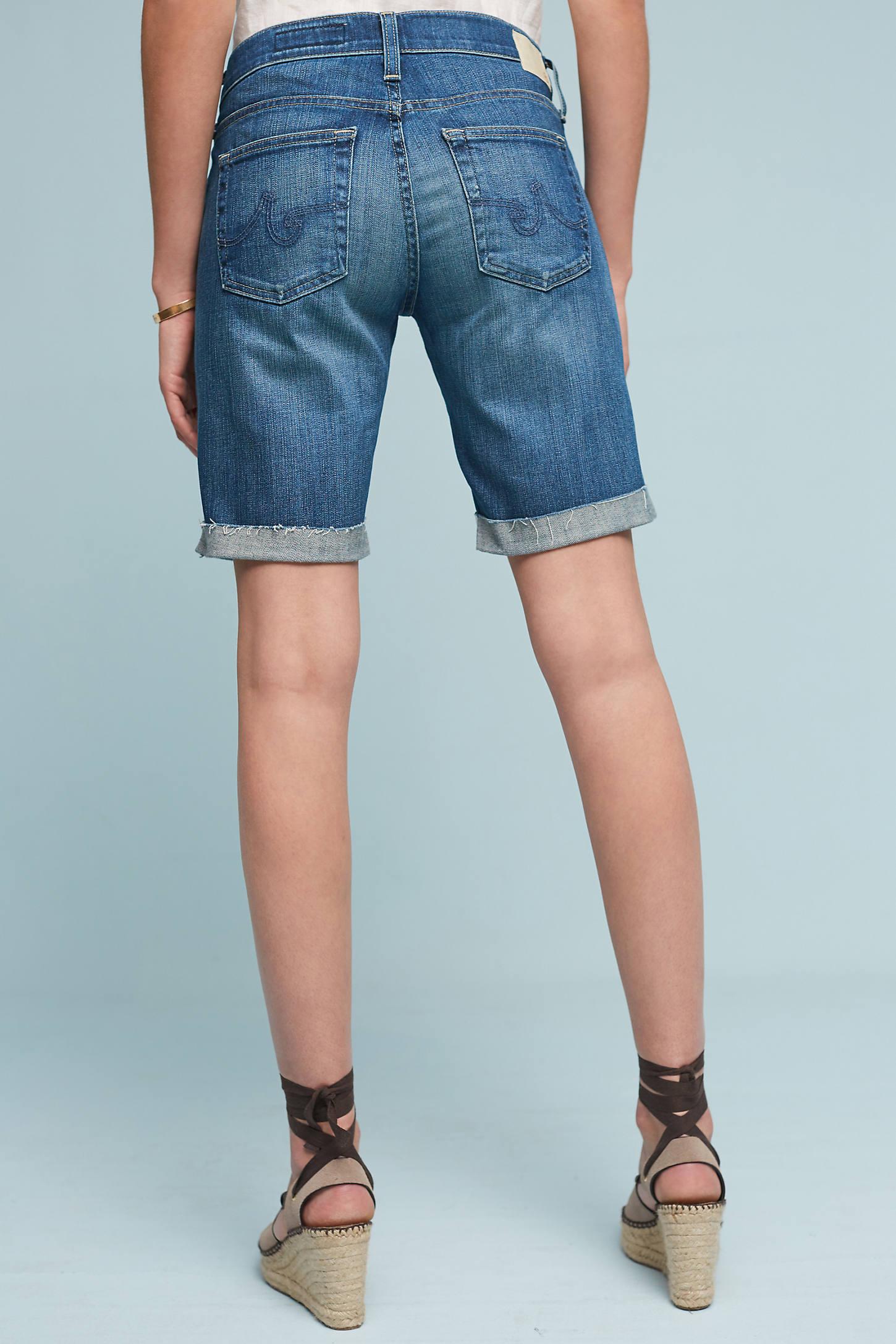 AG Nikki Cuffed Bermuda Shorts