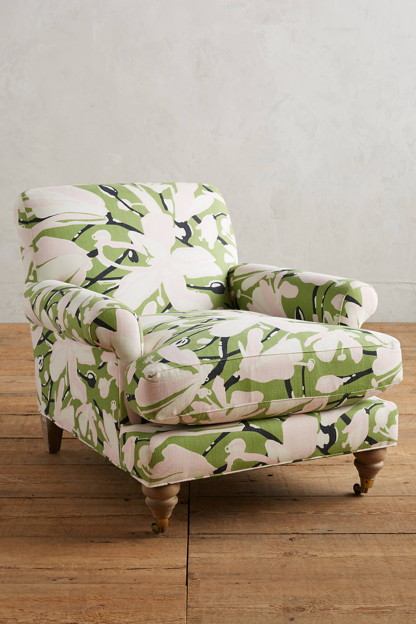 WHIT Floral-Printed Willoughby Chair