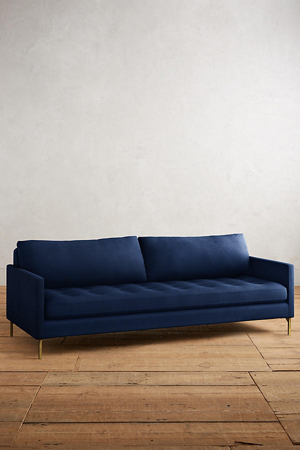 Slide View: 1: Velvet Angelina Sofa