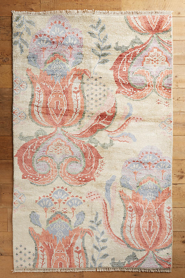 Slide View: 1: Blooming Paisley Teppich