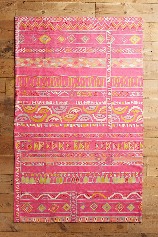 Sarai Rug - Pink, Size 3 X 5