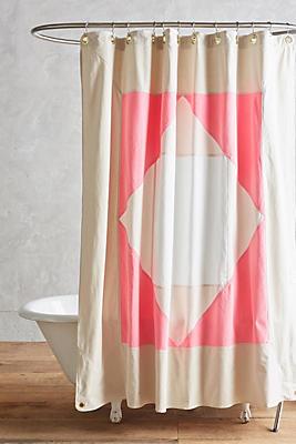 Quiet Town Narlai Shower Curtain
