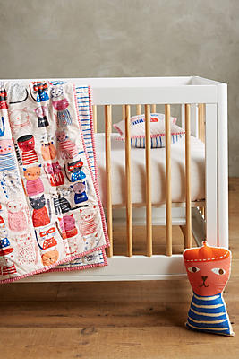 Slide View: 3: Cat Collective Toddler Quilt & Playmat