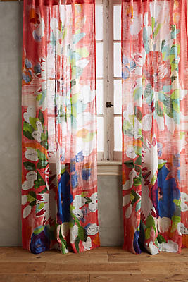 Slide View: 1: Magnolia Curtain