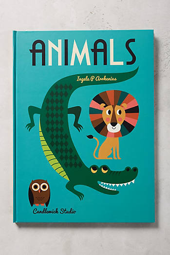 Animals ABC Poster Book