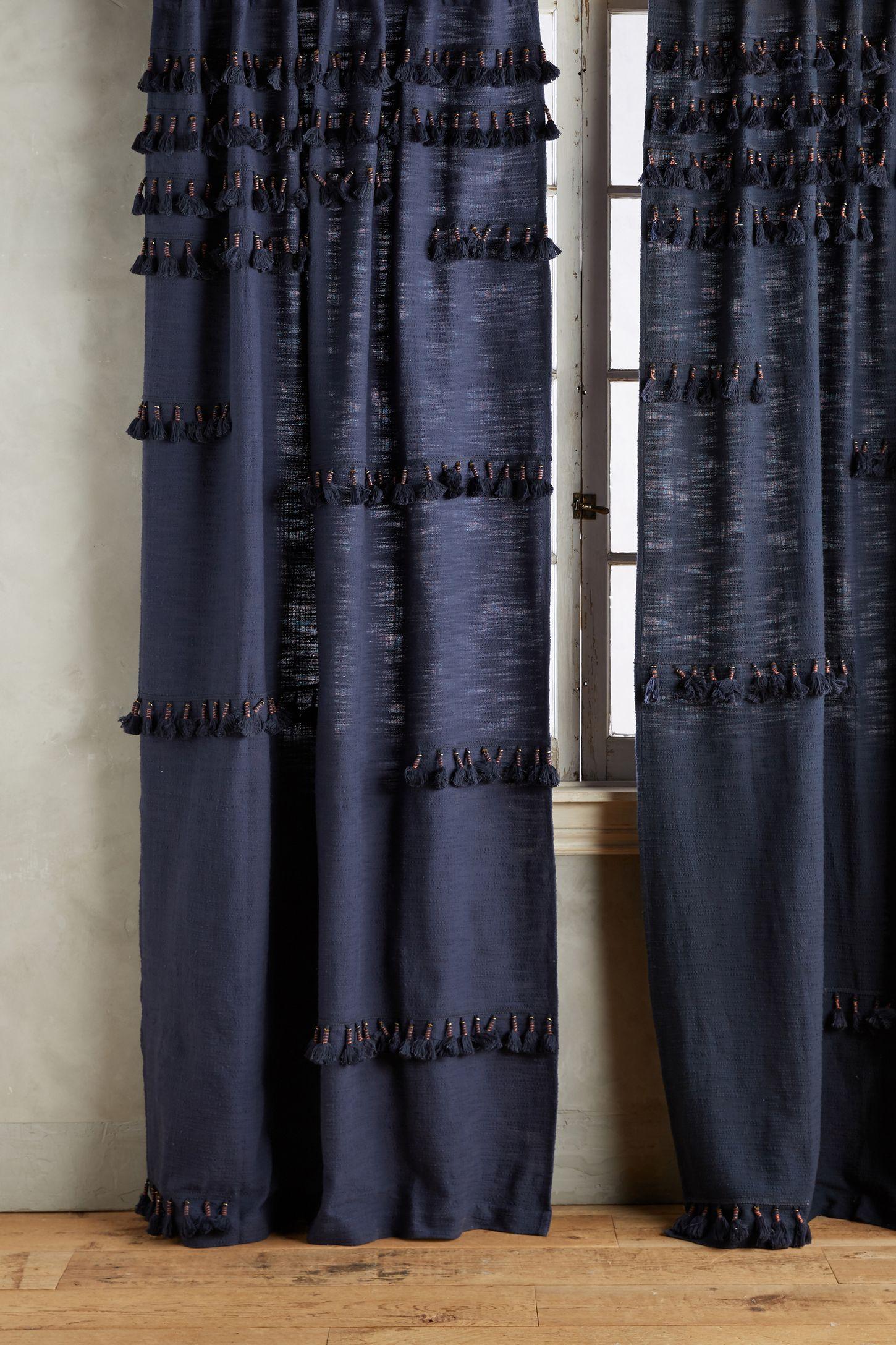 Victorian velvet curtains - Milly Curtain