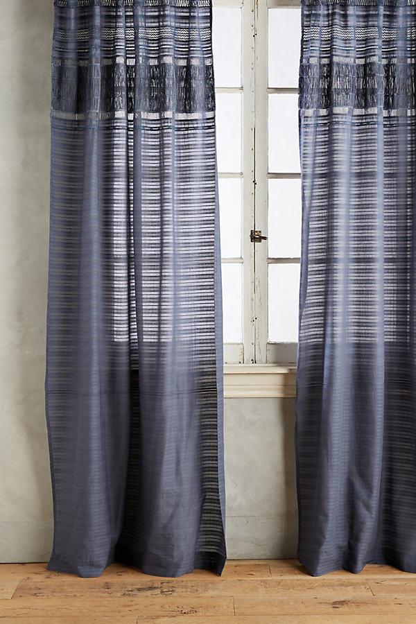 Micha Curtain - Dark Grey, Size 50 X 84