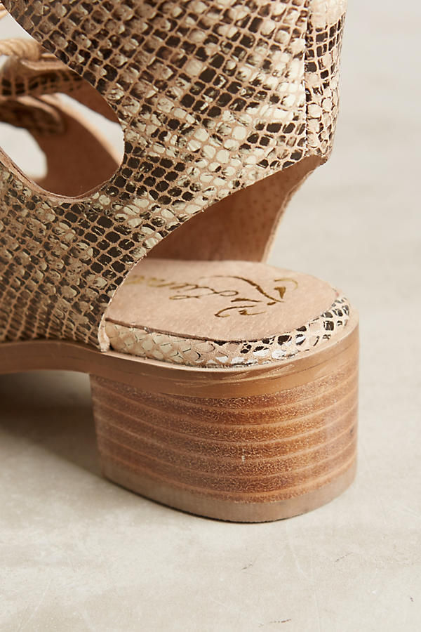Slide View: 5: Liendo By Seychelles Marbella Lace-Up Sandals