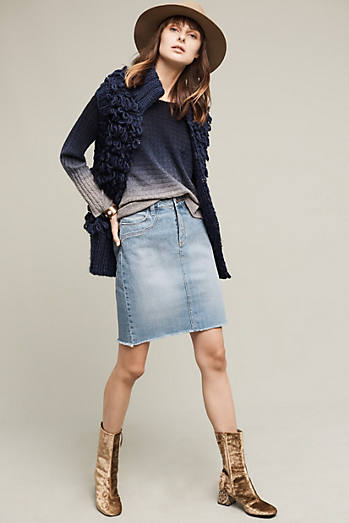 Paige Isla Denim Skirt