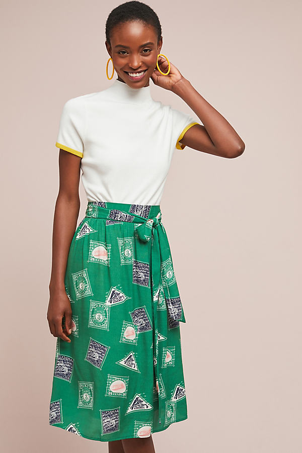 Getaway Printed Skirt - Assorted, Size L