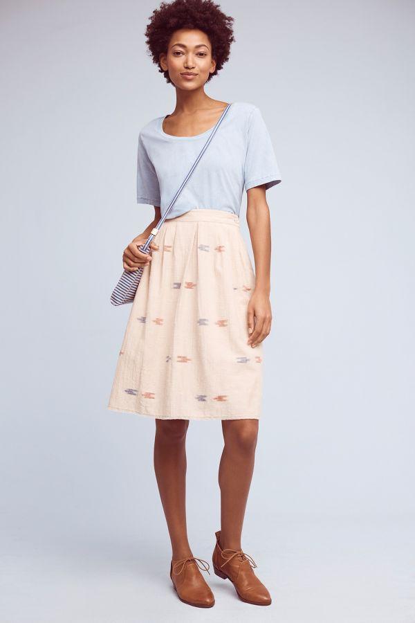 The Odells Berdine Ikat-Printed Skirt
