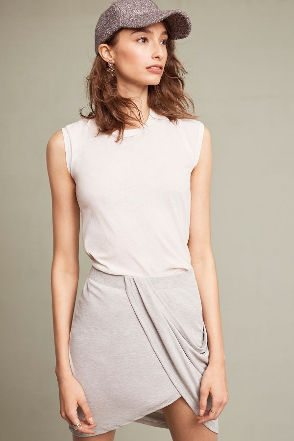 Splendid Shandy Draped Skirt