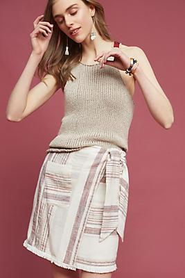 Slide View: 2: Avery Wrap Skirt