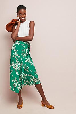 Slide View: 1: Faithfull Cap Estel Wrap Skirt