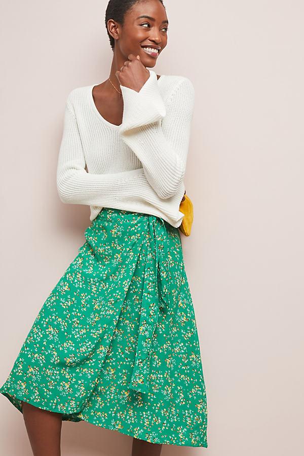Faithfull Audrey Wrap Skirt - Assorted, Size Xs