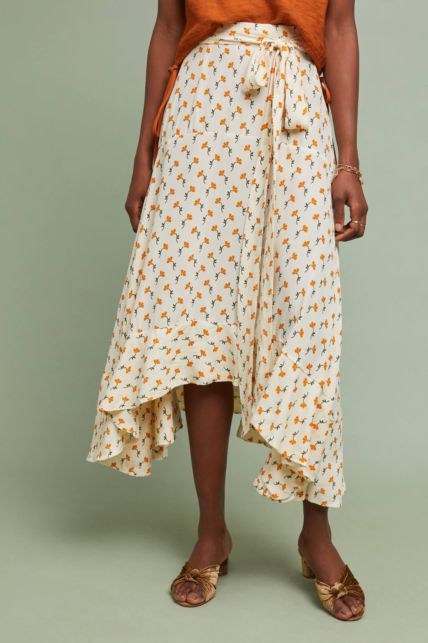 Faithfull Kamares Wrap Skirt