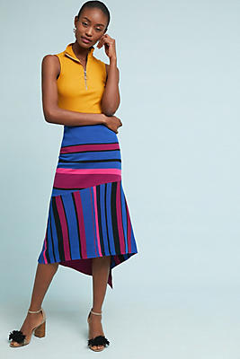 Slide View: 1: Tracy Reese Asymmetrical Knit Skirt