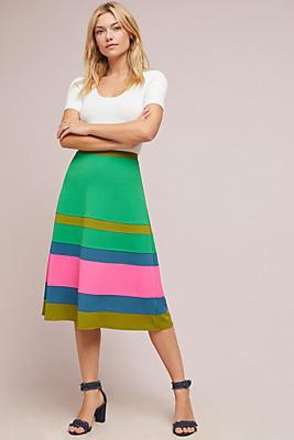 Slide View: 1: Catania Colorblock Skirt
