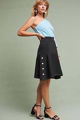 Slide View: 2: Spencer Flounced Skirt