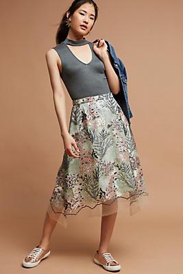 Slide View: 2: Lafayette Garden Skirt