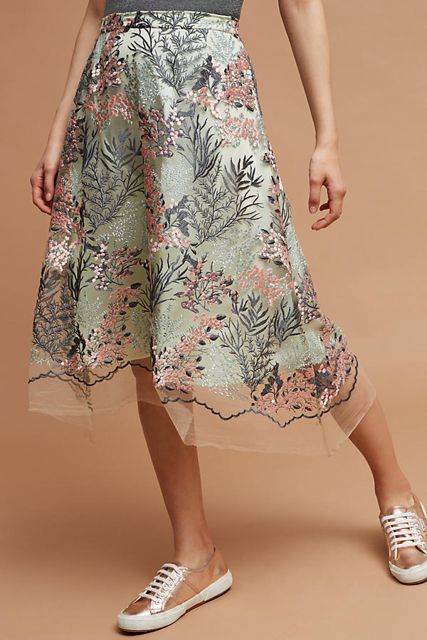 Slide View: 1: Lafayette Garden Skirt