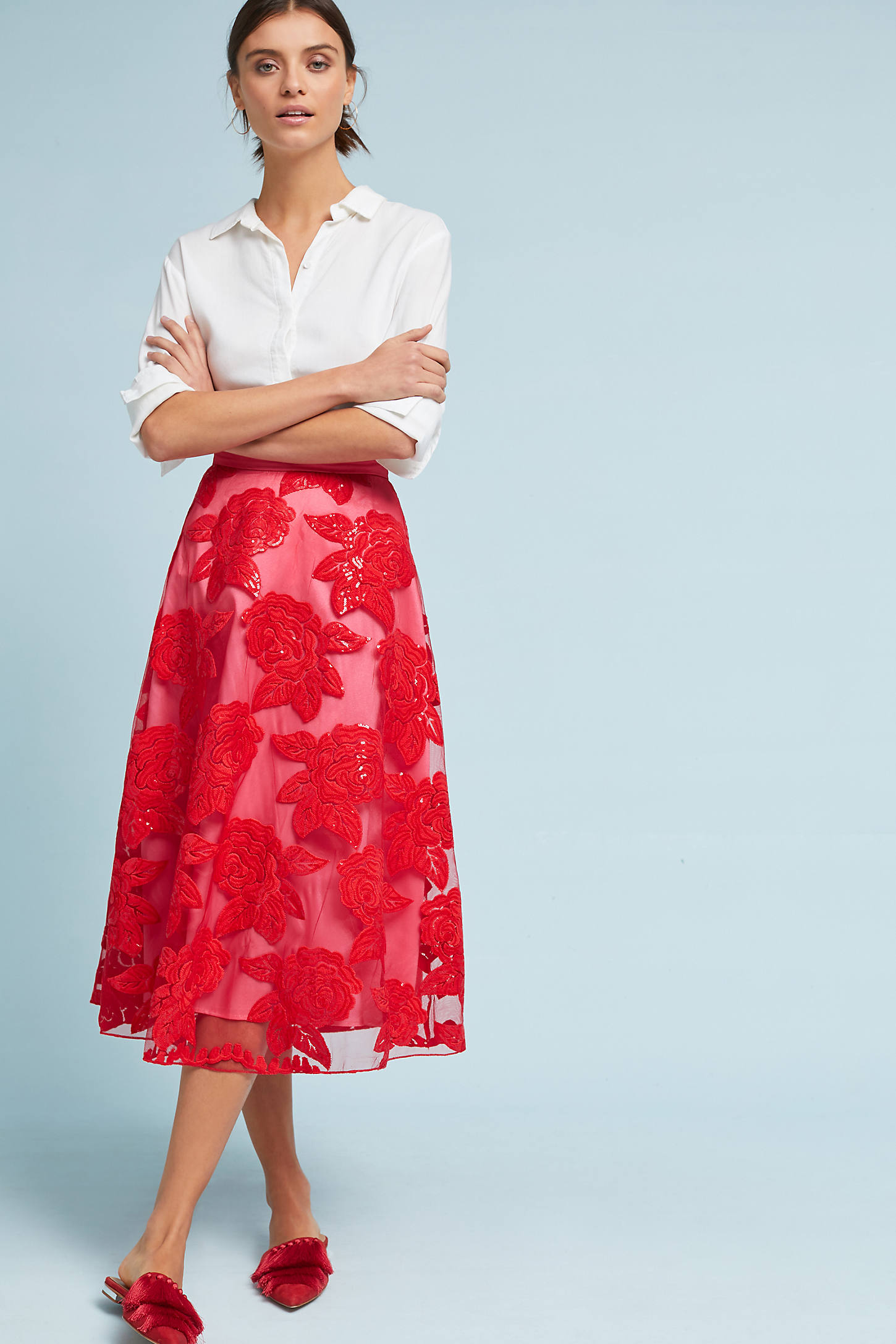 Camellia Lace Skirt