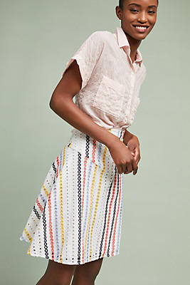 Slide View: 1: Abacos A-line Skirt