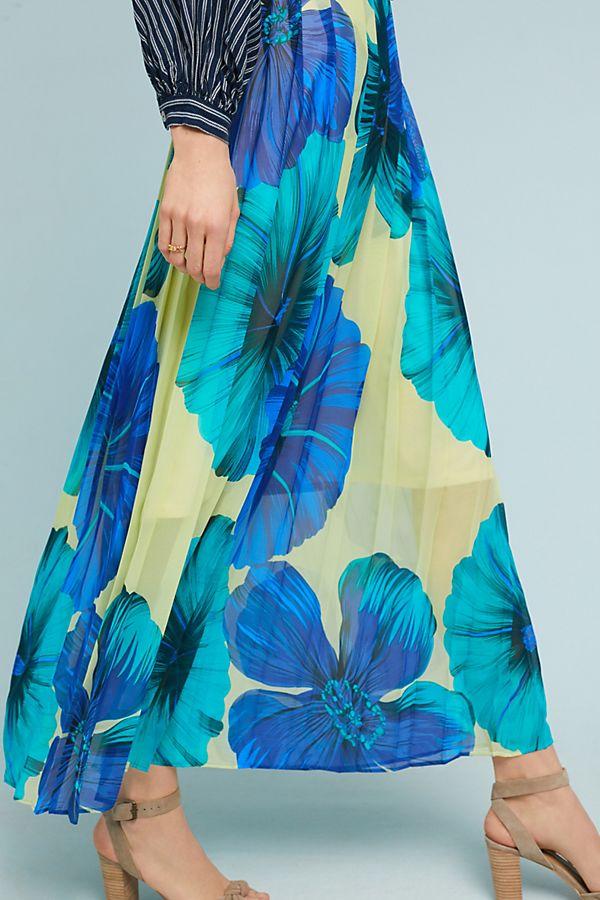 Slide View: 2: Terrarium Pleated Skirt