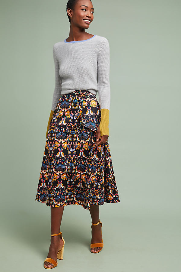 Whimsy Midi Skirt - Assorted, Size Uk 6