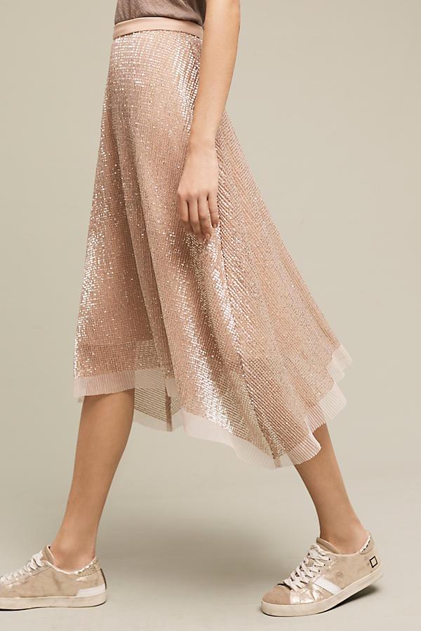 Desert Sun Sequined Skirt
