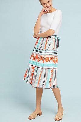 Slide View: 1: Frida Wrap Skirt